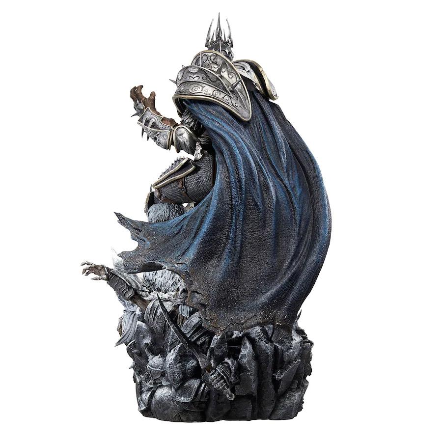 Nueva estatua de Arthas de 65 cm en la Gear Store de Blizzard
