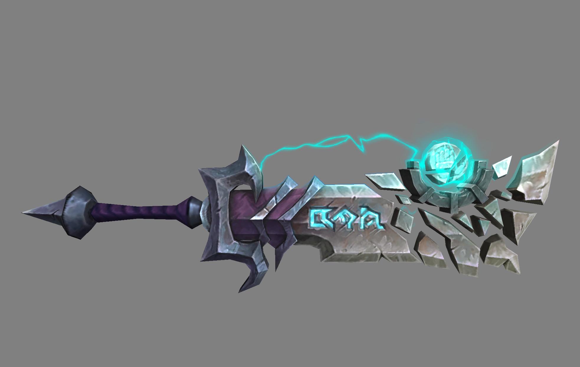 Armas Artefacto. Blande las más poderosas armas contra la Legion