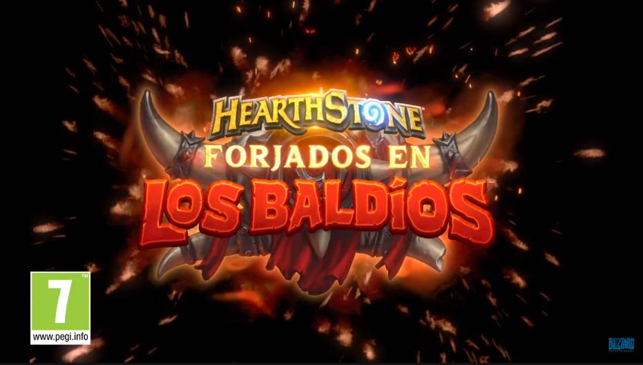 Hearthstone: Nueva Expansión: Forjados en los Baldíos   BlizzConline