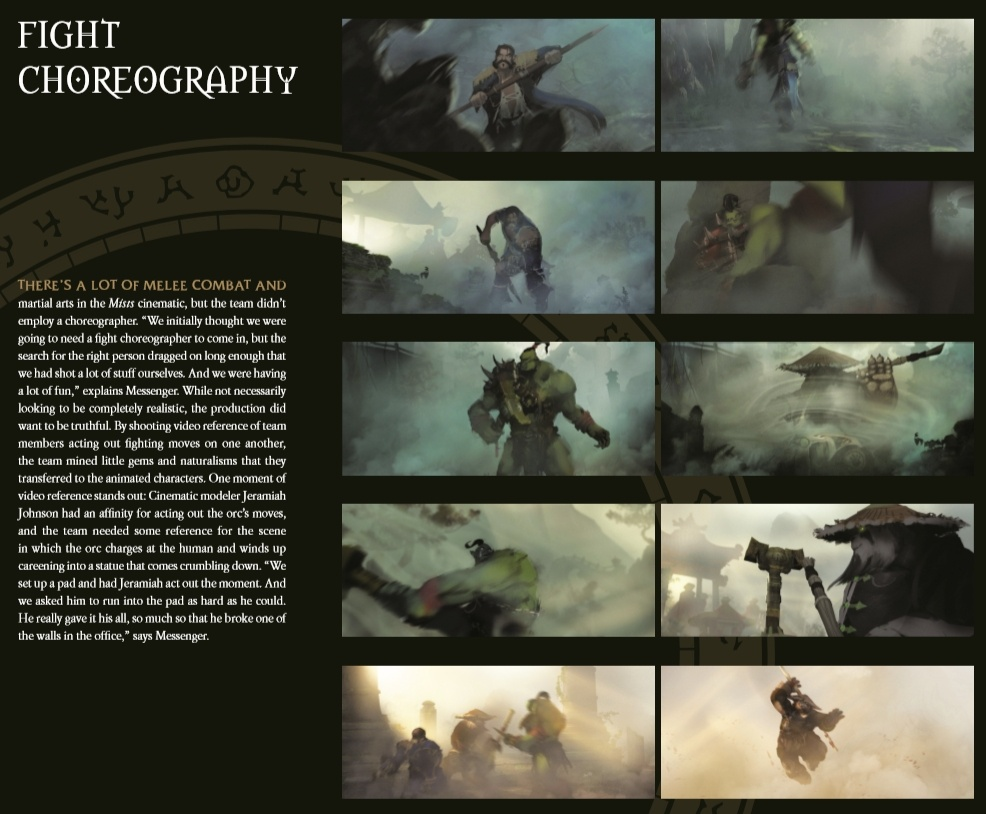 The Cinematic Art of World of Warcraft: Volumen 1 | Nuevas páginas del libro añadidas