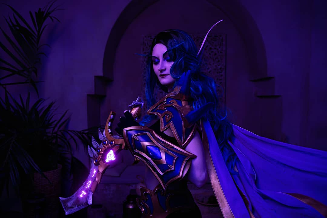 Cosplay de Elfa del Vacío por Reganight