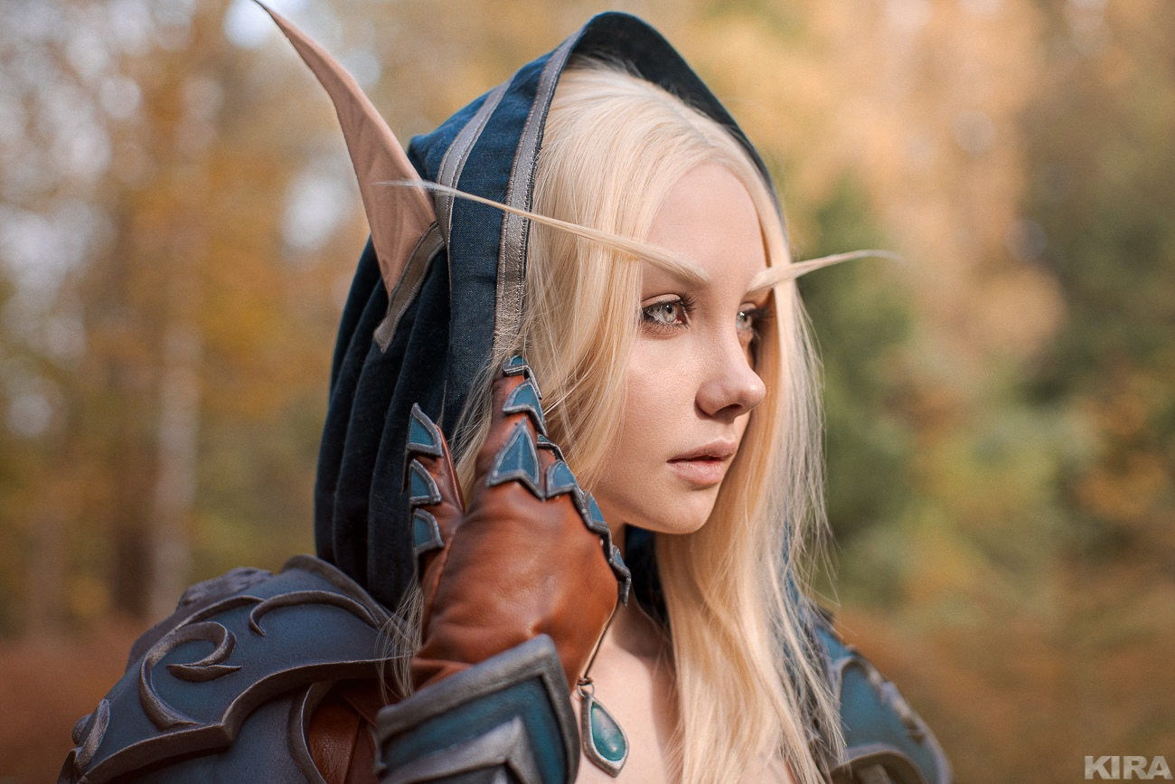 Cosplay de Sylvanas Brisaveloz por Finist Craft