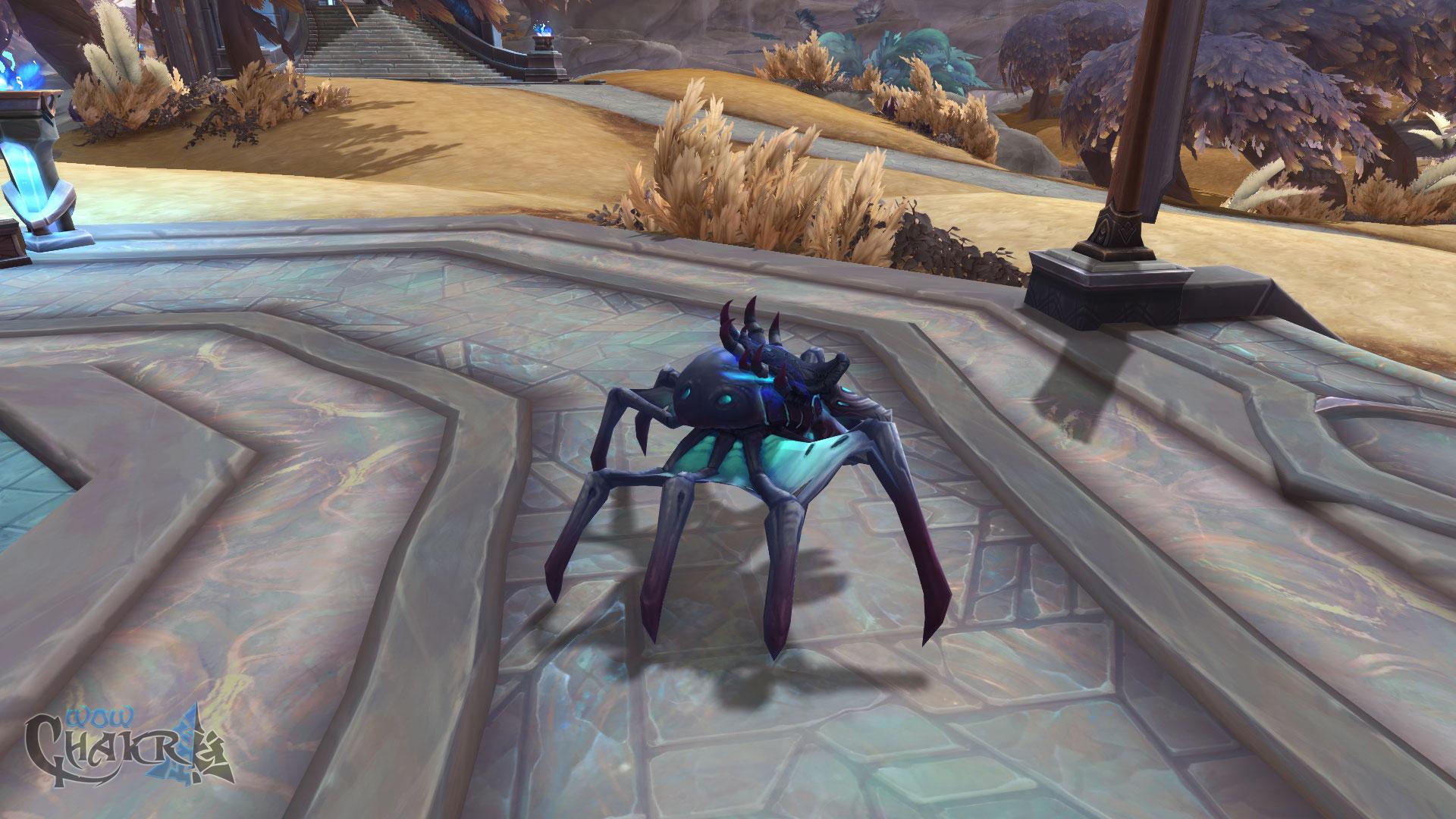 Nueva montura Devourer mite de Shadowlands