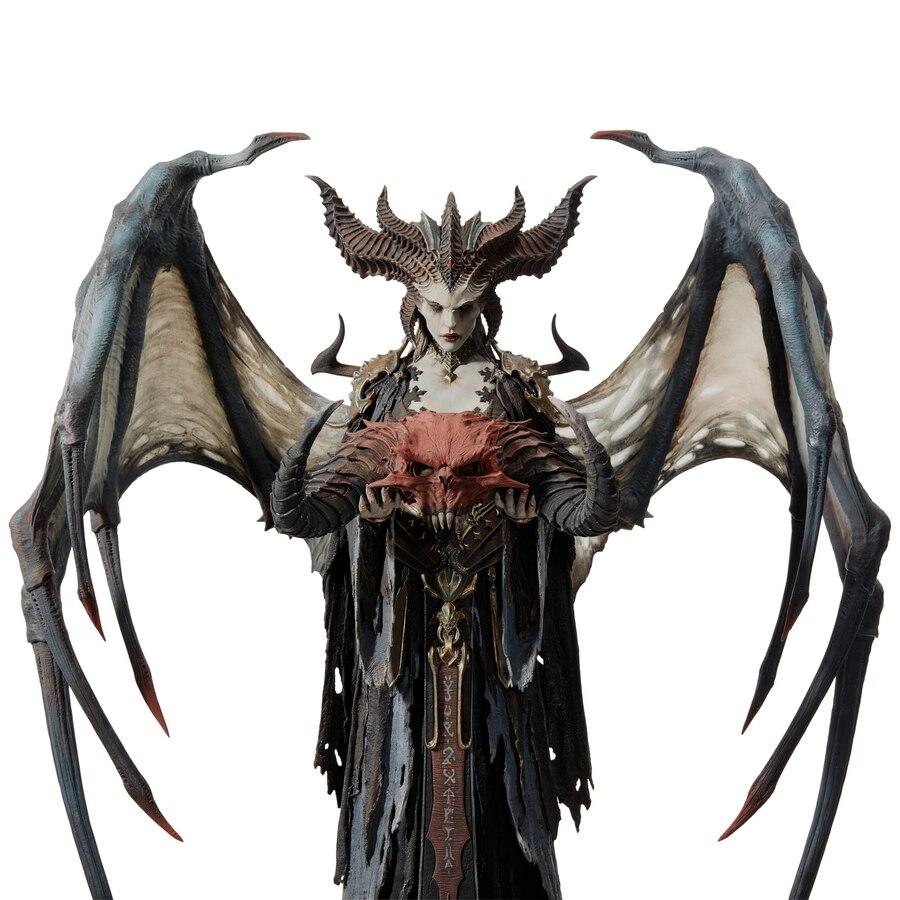 Ya disponible la precompra de la estatua de Lilith, la Hija del Odio, de Diablo IV