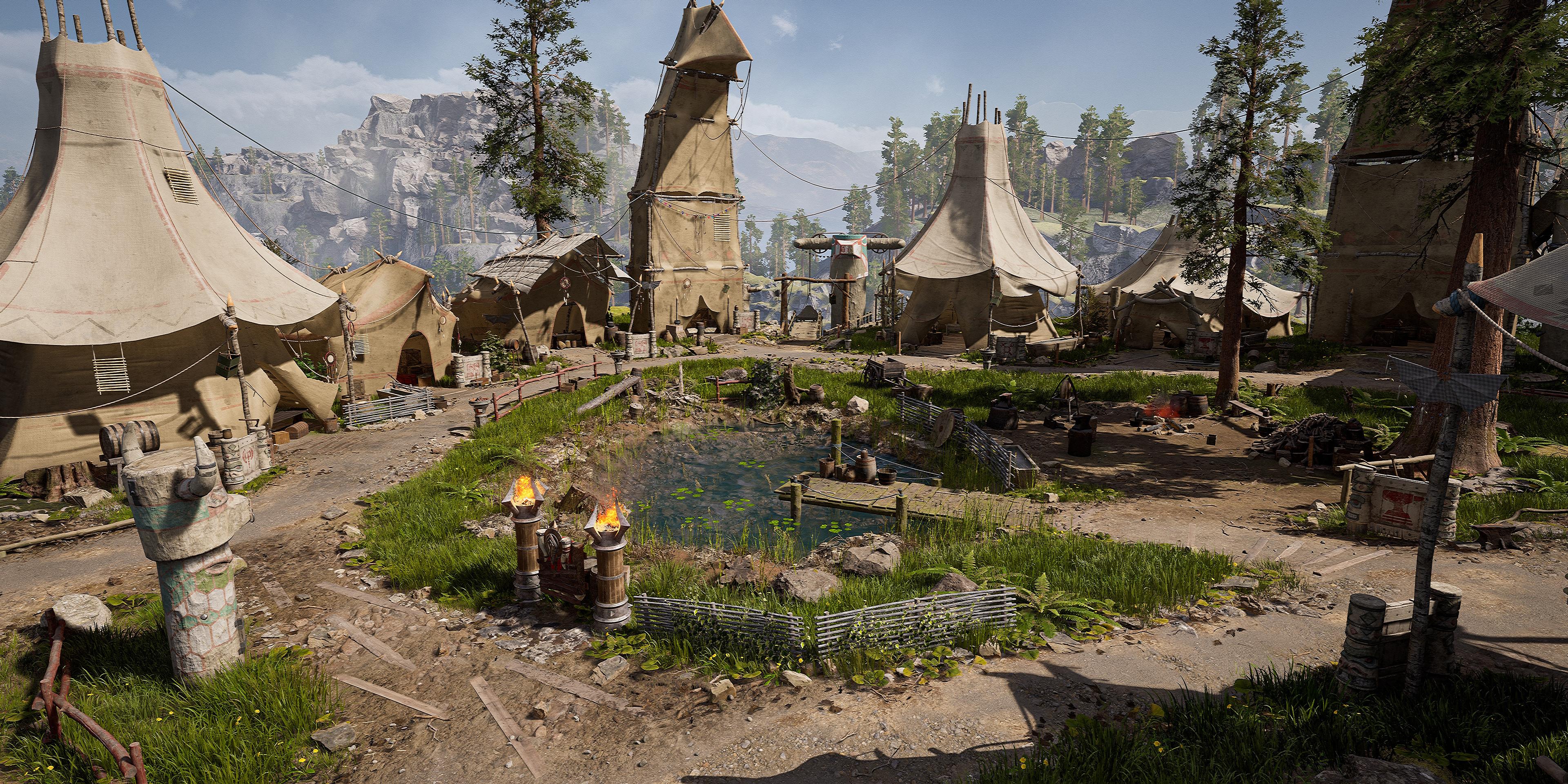 Cima del Trueno creado con Unreal Engine