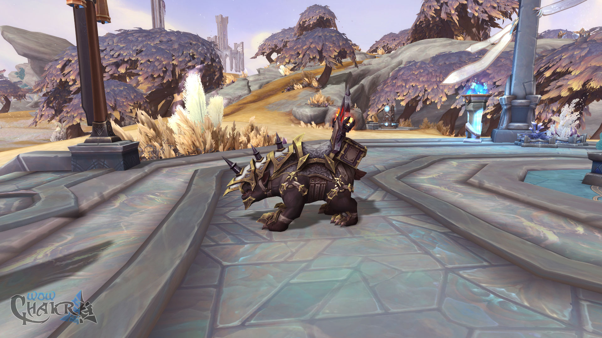 Nueva montura Gorgon Épico de Shadowlands