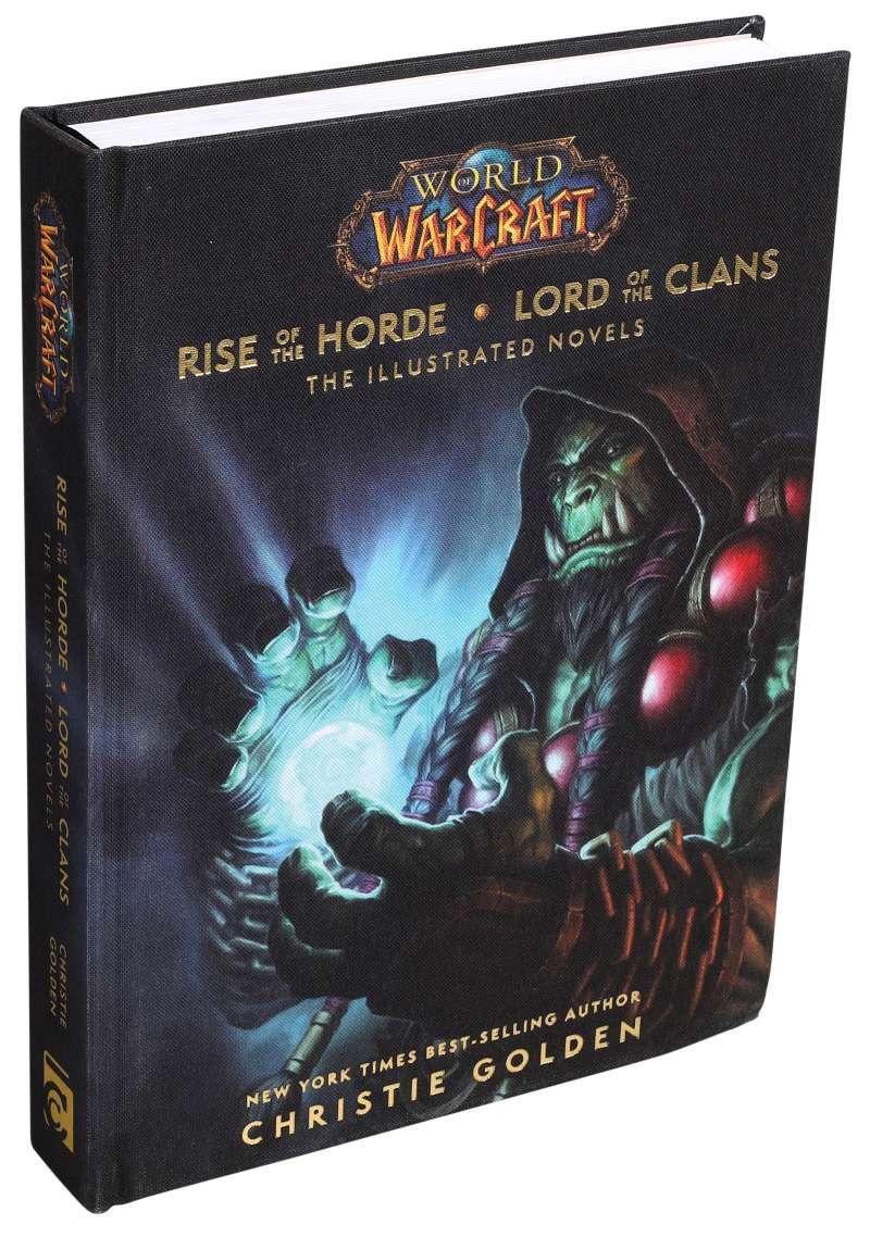 Ya a la venta la novela ilustrada Rise of the Horde & Lord of the Clans.