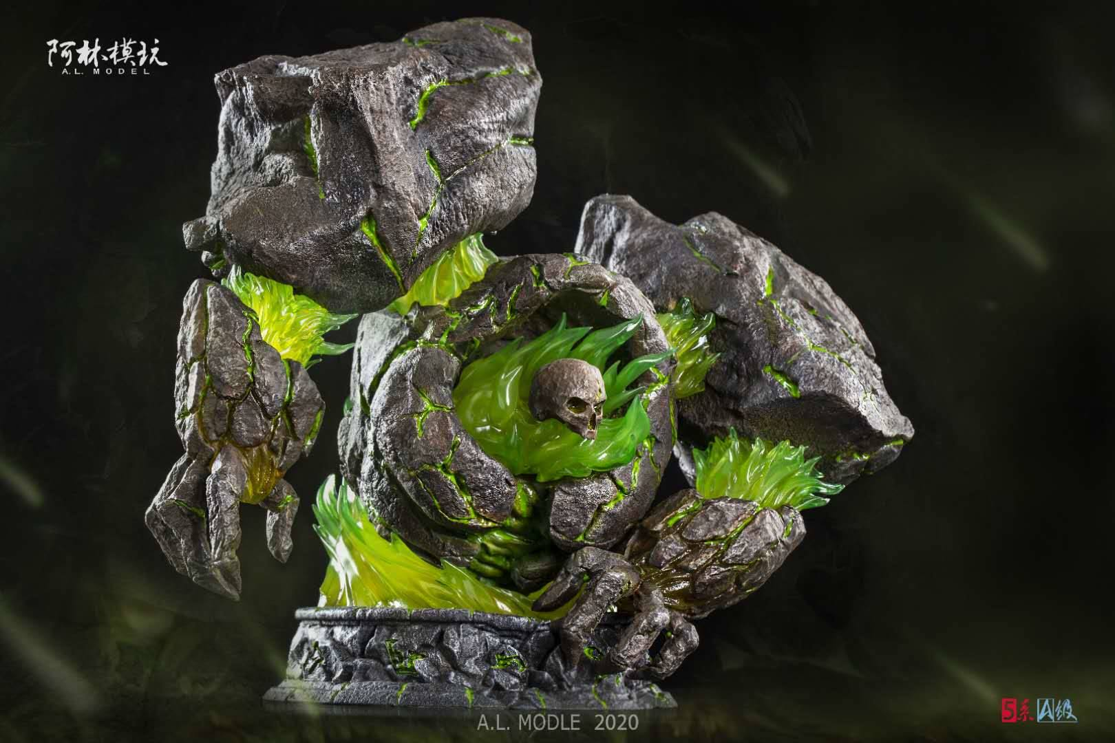 Estatua de Infernal por Lin Studios