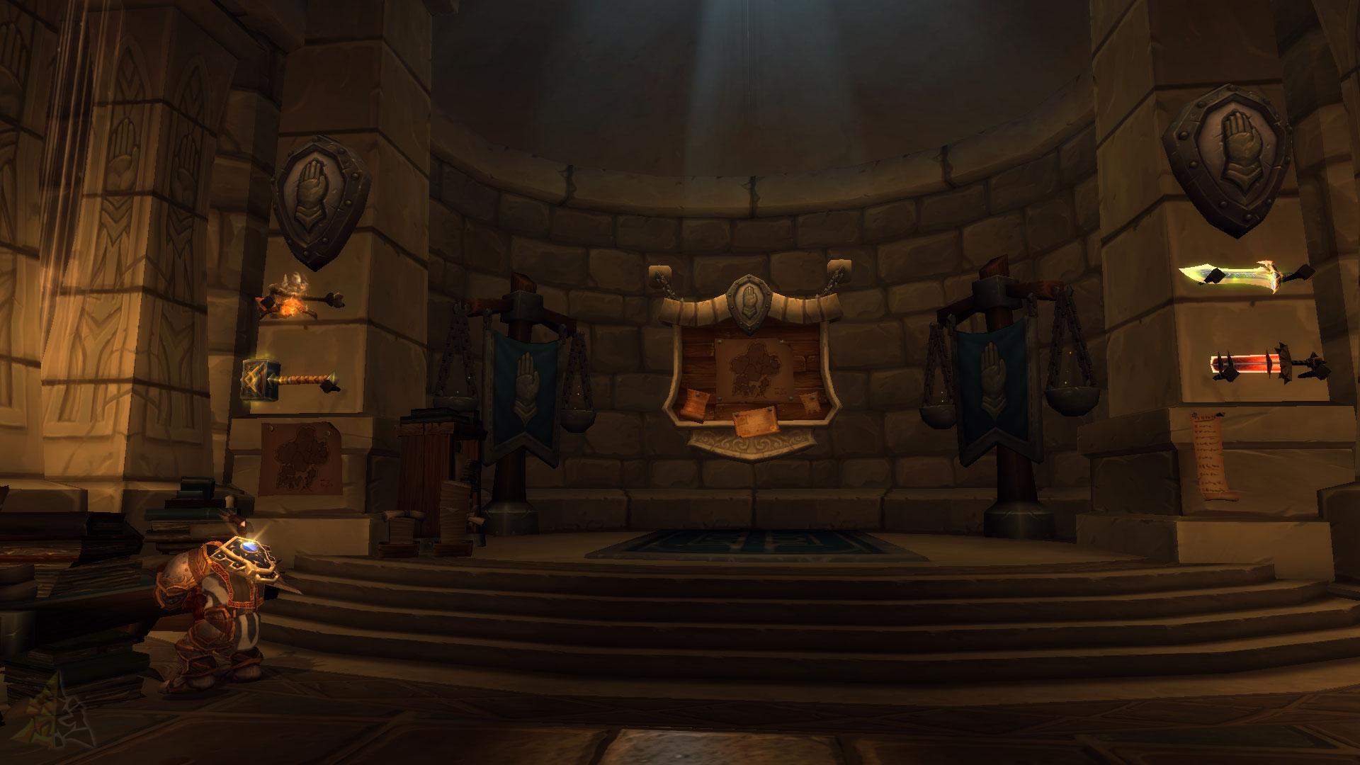 Paladín en Legion: Misiones de Artefacto y Salas de Clase
