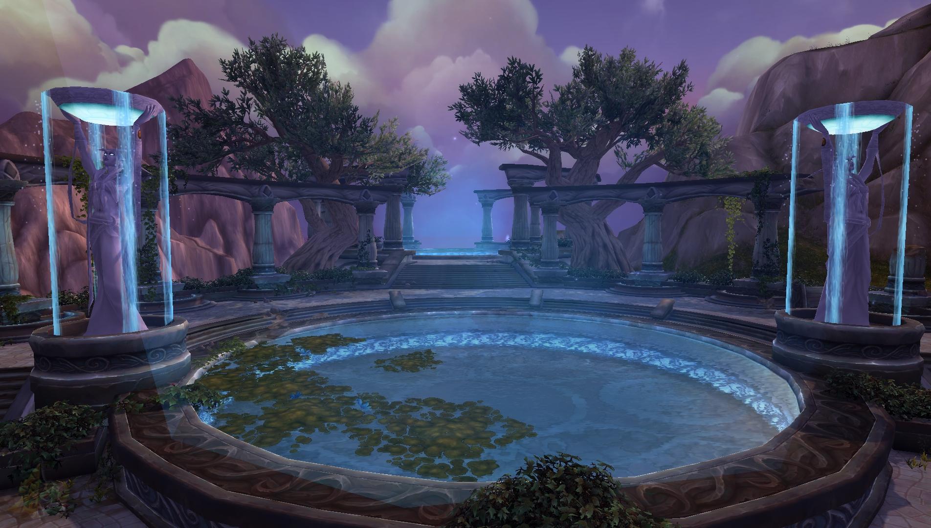 [Zonas de Legion] Azsuna: Lore, Personajes e imágenes