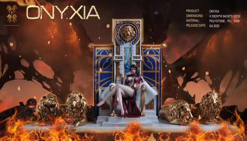 Estatua de Onyxia en forma humana por Four Horsemen Studio