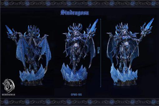 Estatua de Sindragosa en forma humana por Leviathan Studio