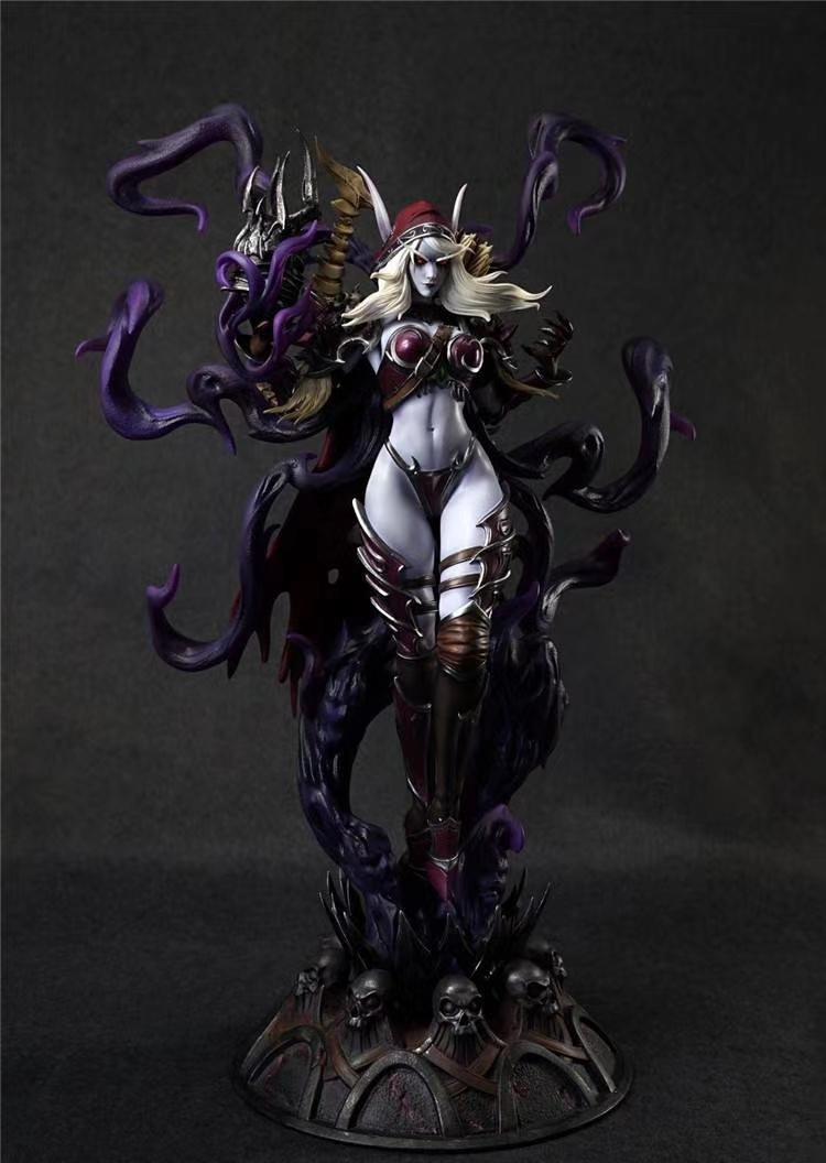 Estatua de Sylvanas por Windseeker Studio
