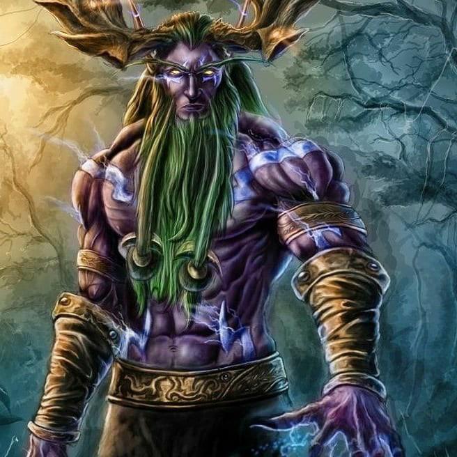 Tallas de madera de World of Warcraft