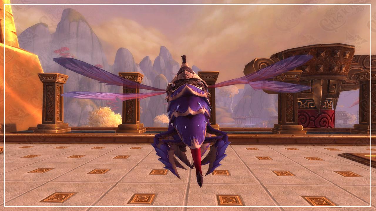 Monturas Aqir voladoras: Zángano obediente – Zángano malévolo – Enjambrista perverso | Parche 8.3 Visiones de N'Zoth