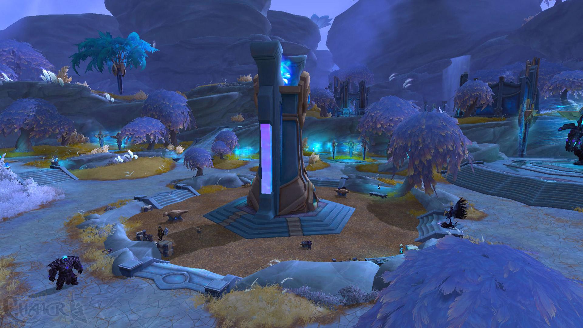 Zona de Bastión en imágenes en Shadowlands