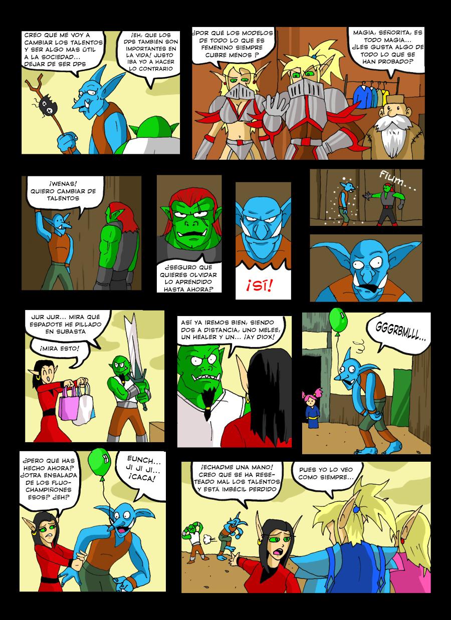 Cómic: The Quest Temporada 3 (completa)